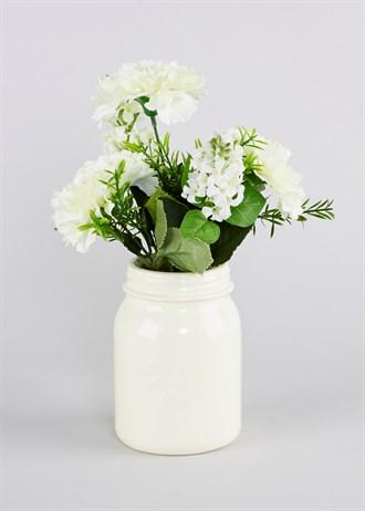 faux-flowers-in-ceramic-embossed-jar-16cm-x-9cm