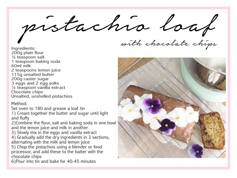 pistachioloaf